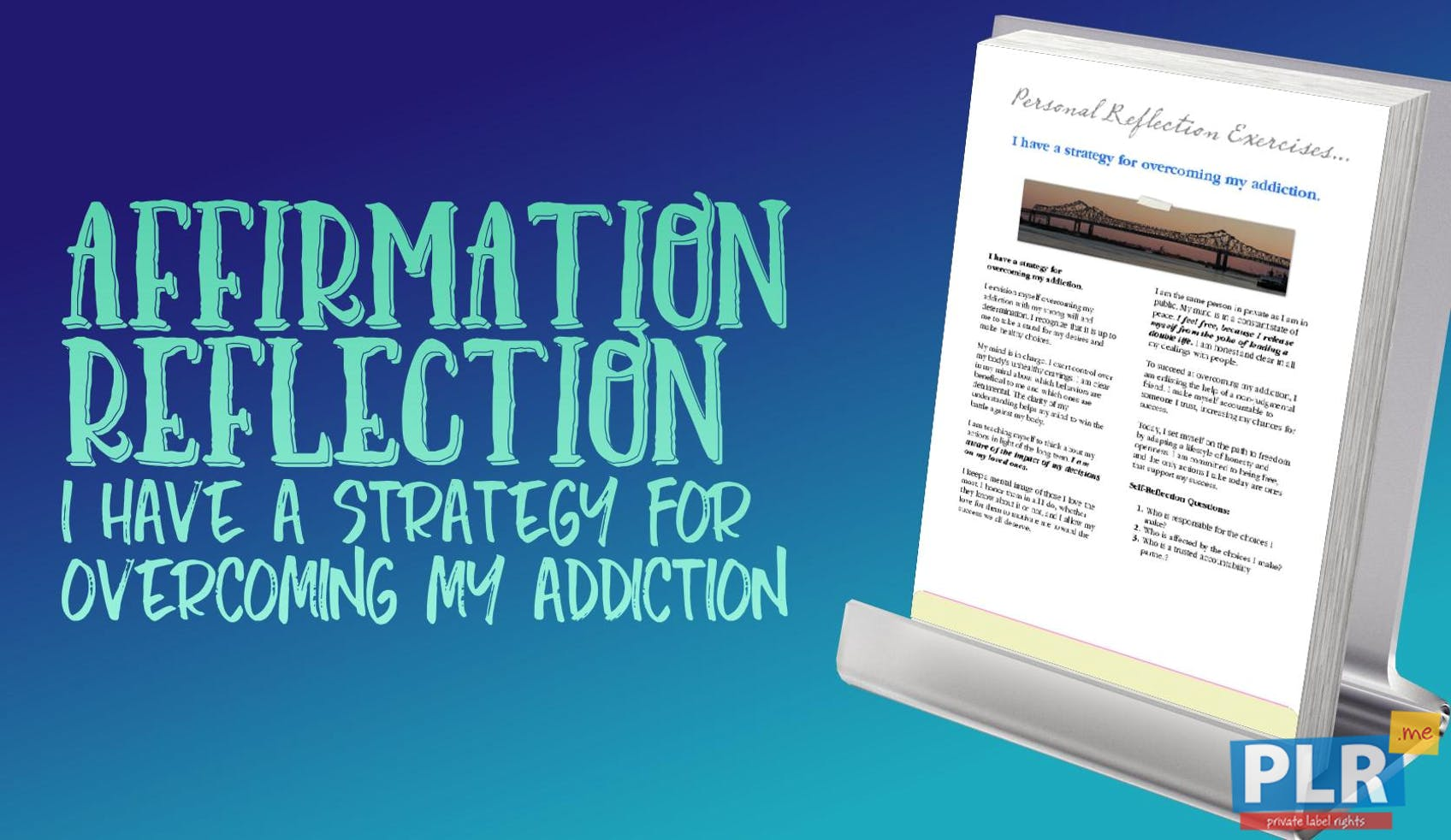 I Have A Strategy For Overcoming My Addiction
