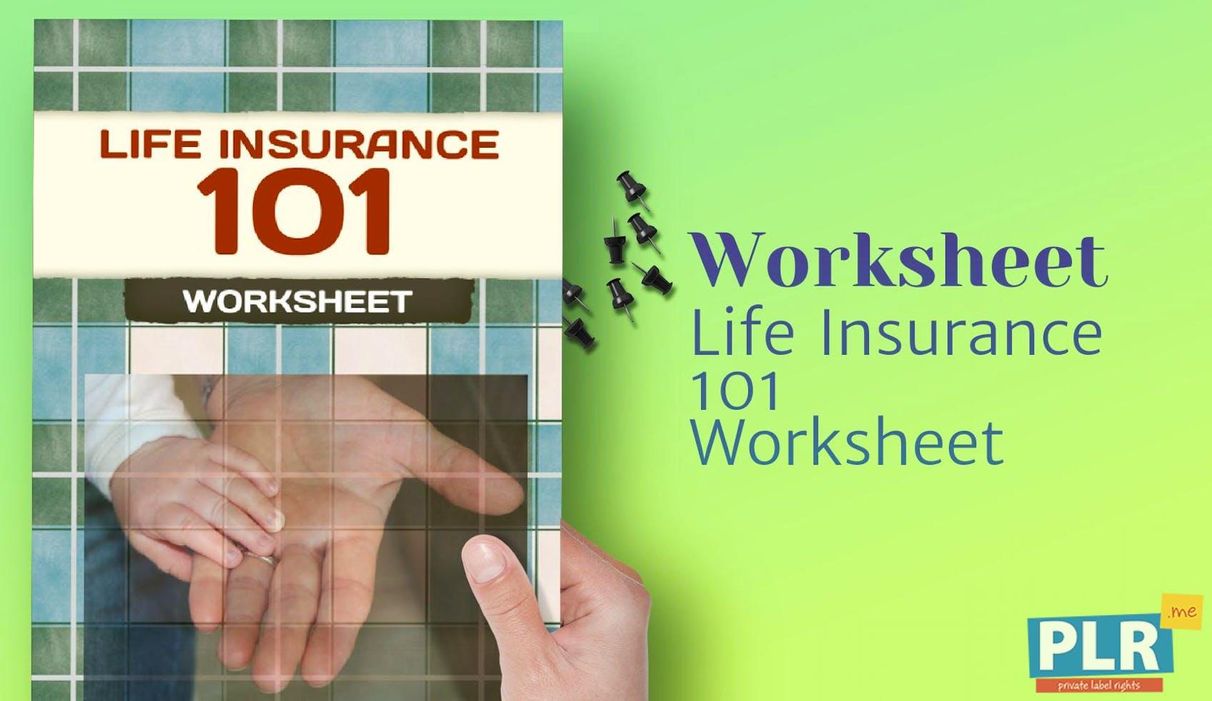 Plrgix3861 life insurance 101 worksheet 1 altavistaventures Images