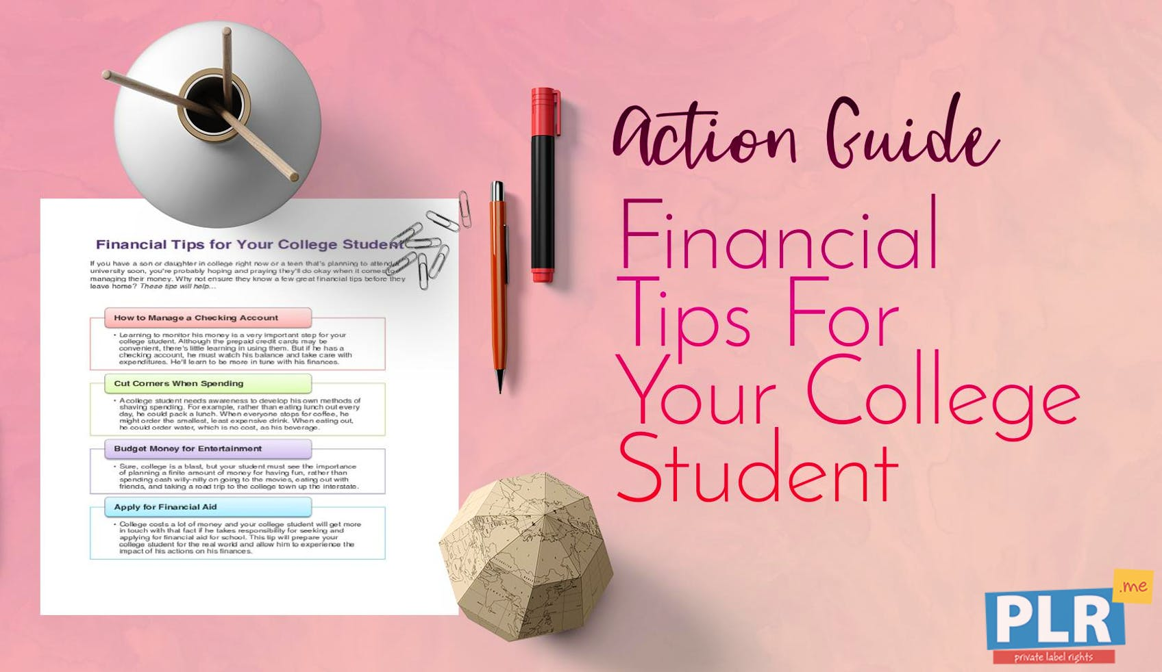 Financial Tips For Your College Student