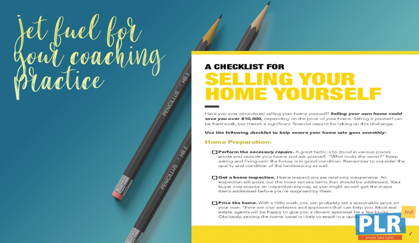 A Checklist For Selling Your Home Yourself