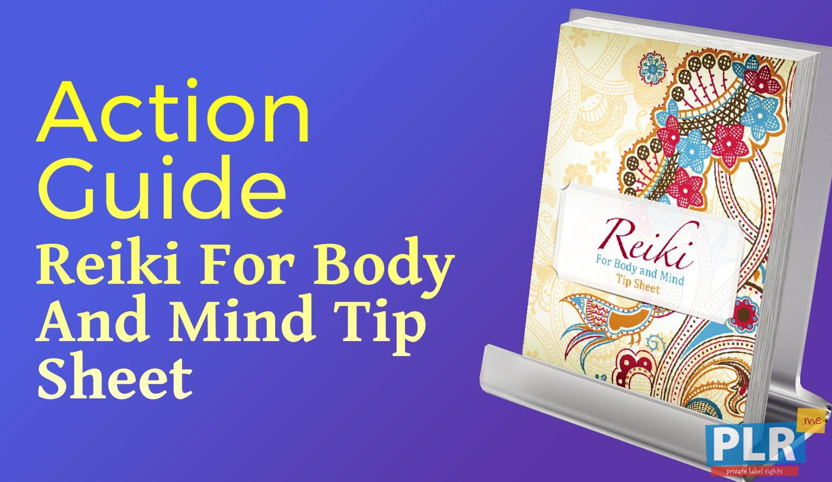 Reiki For Body And Mind Tip Sheet