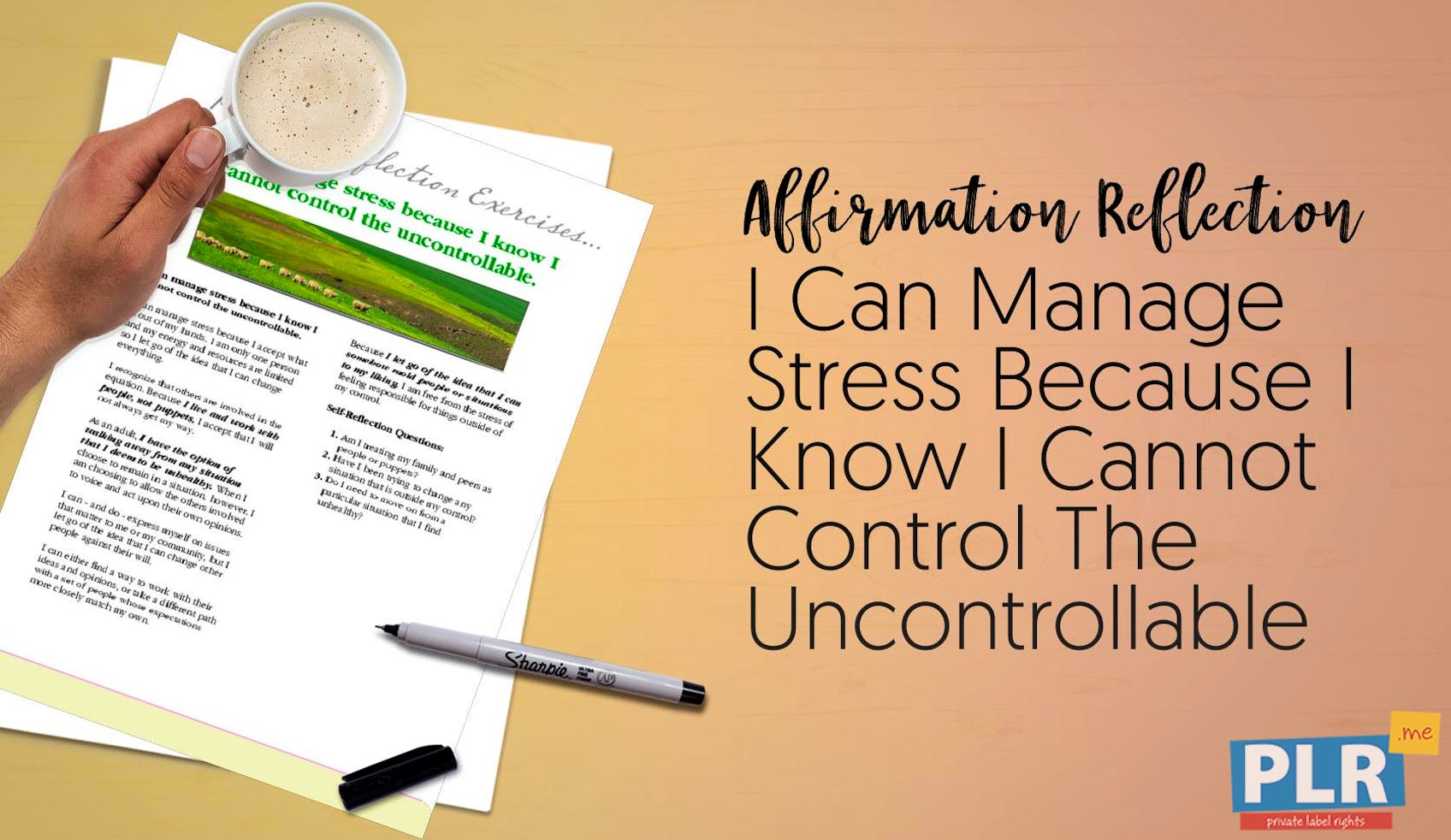 I Can Manage Stress Because I Know I Cannot Control The Uncontrollable
