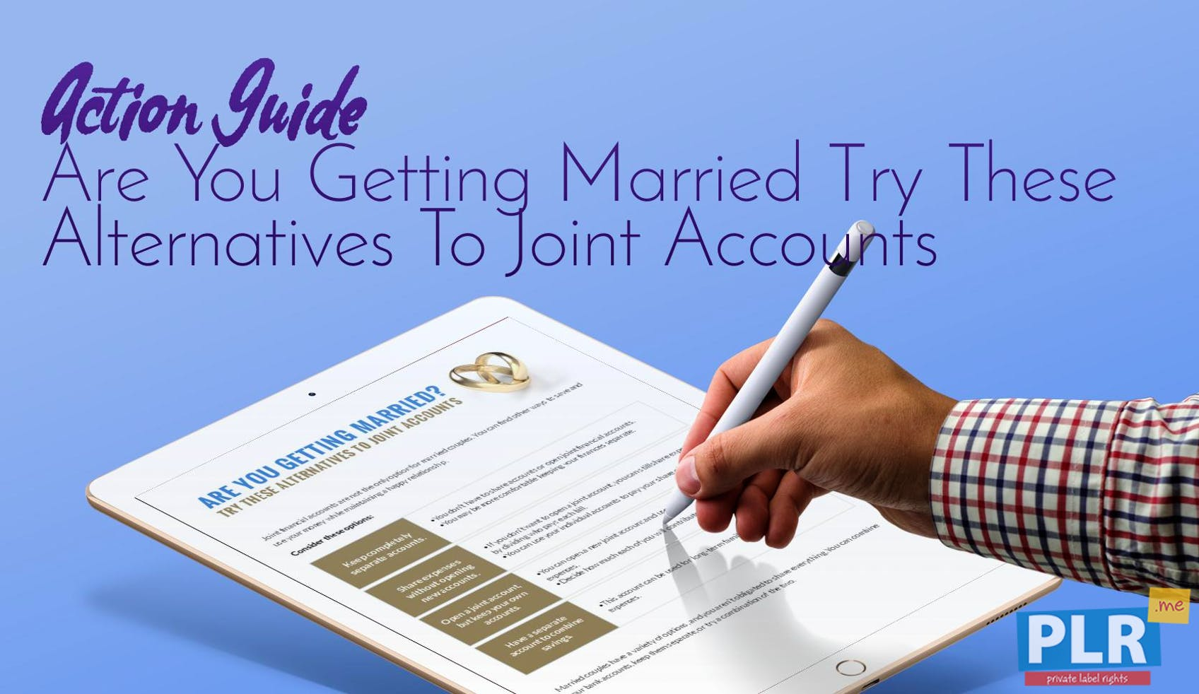 Are You Getting Married Try These Alternatives To Joint Accounts