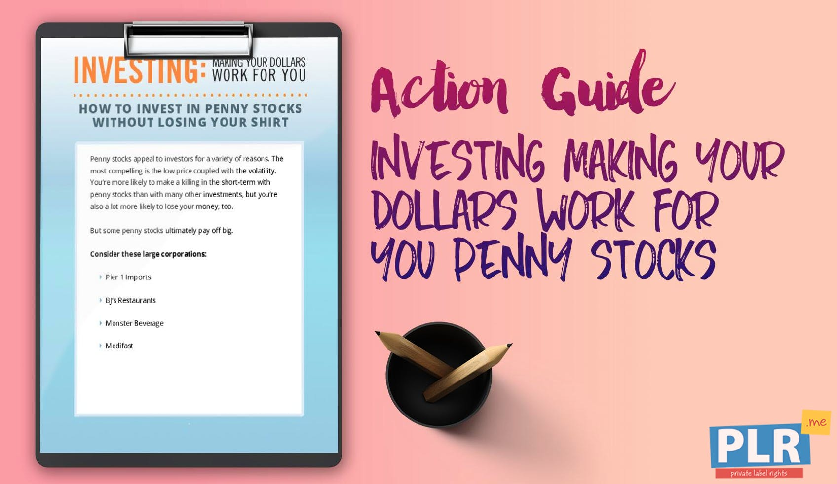 Investing Making Your Dollars Work For You Penny Stocks