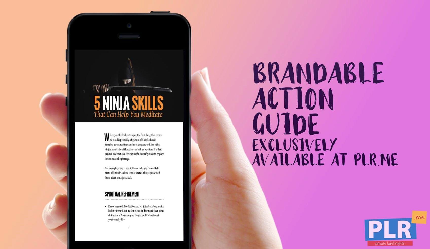 5 Ninja Skills That Can Help You Meditate