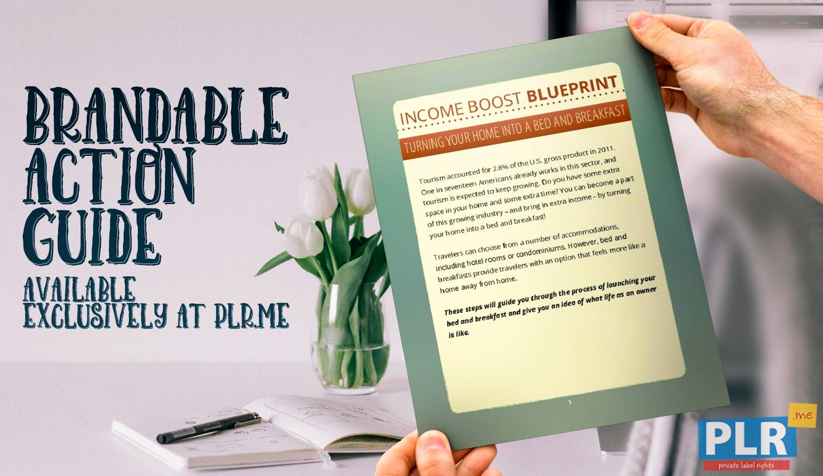 Income Boost Blueprint Bed & Breakfast