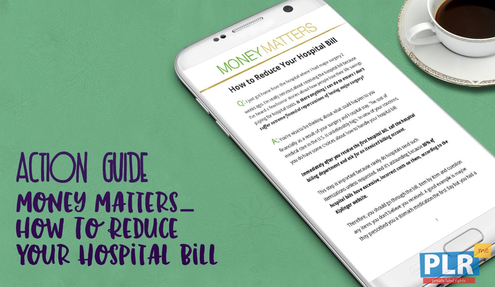 Money Matters–how To Reduce Your Hospital Bill