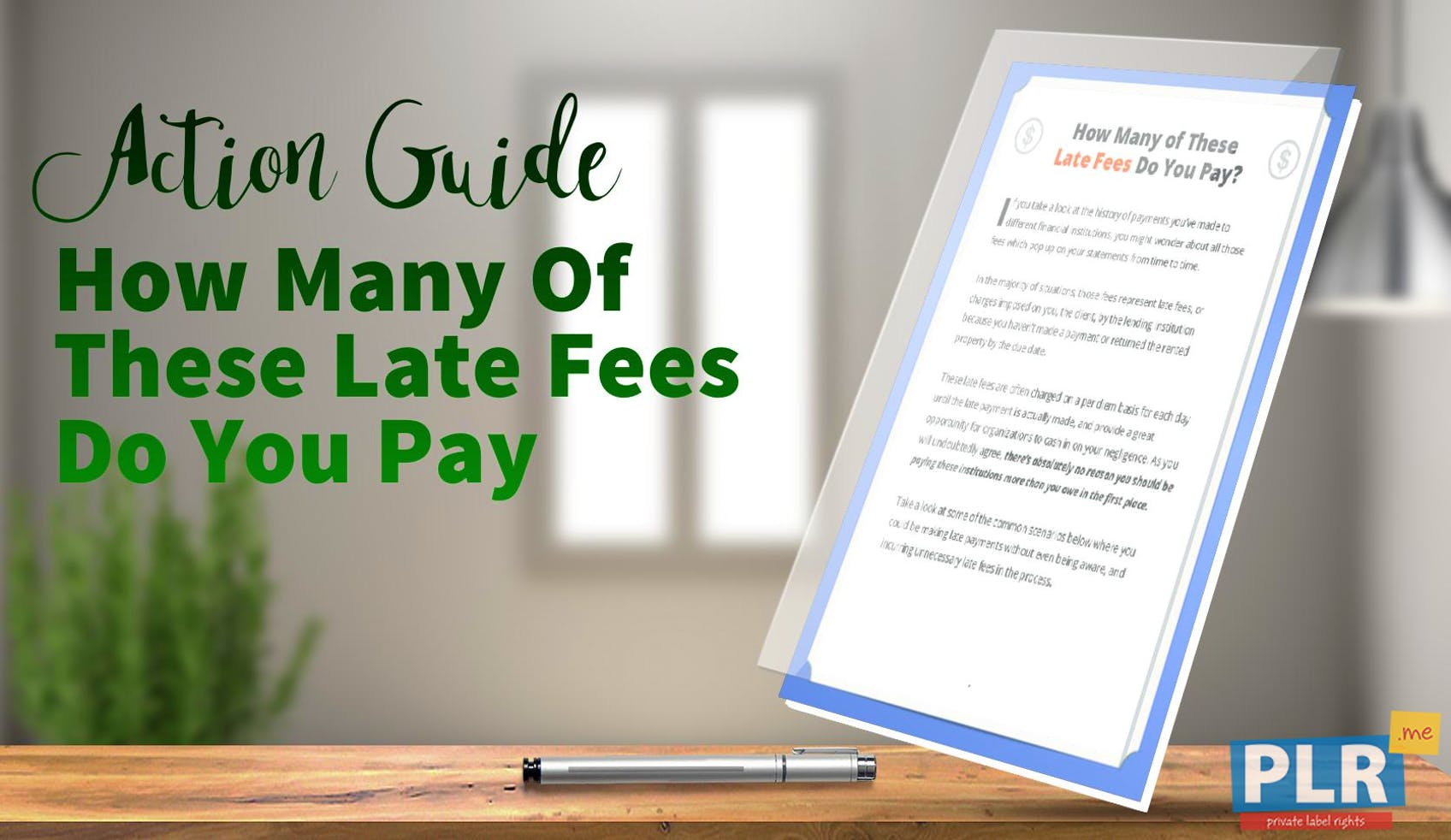 How Many Of These Late Fees Do You Pay