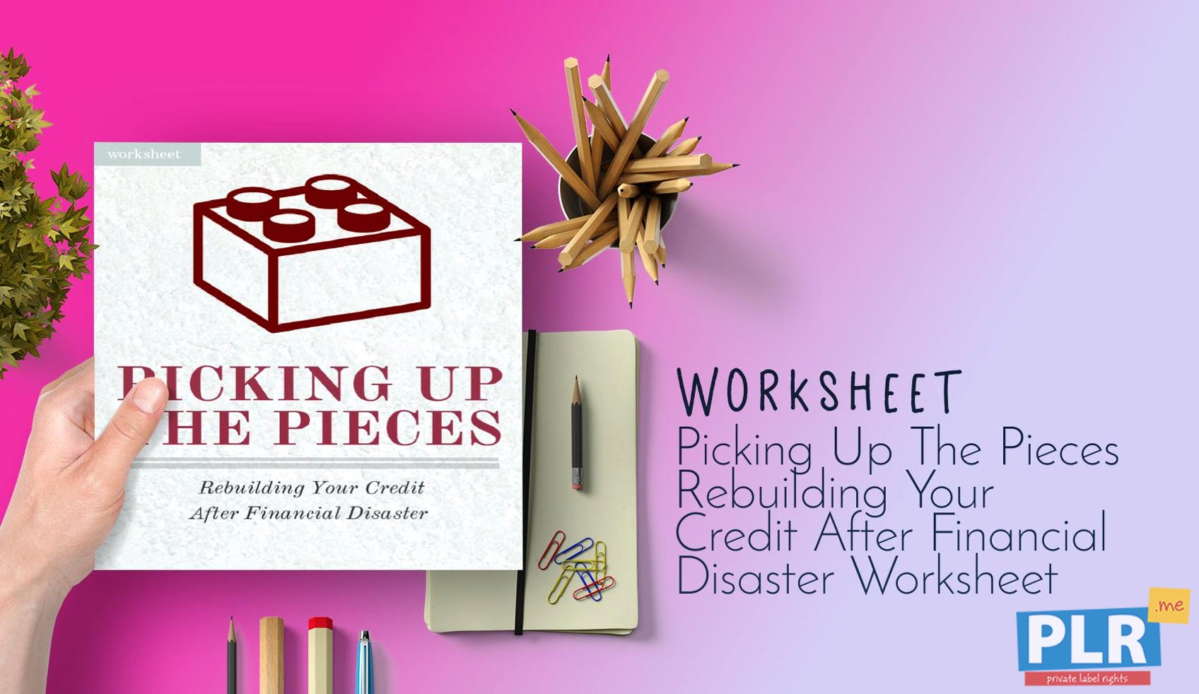 Picking Up The Pieces Rebuilding Your Credit After Financial Disaster Worksheet