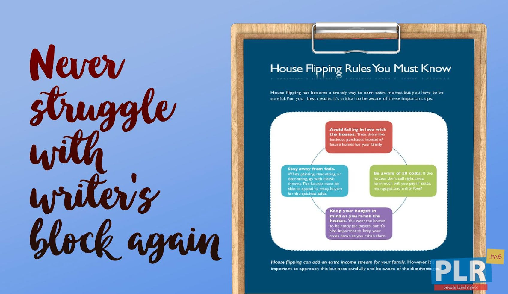 House Flipping Rules You Must Know