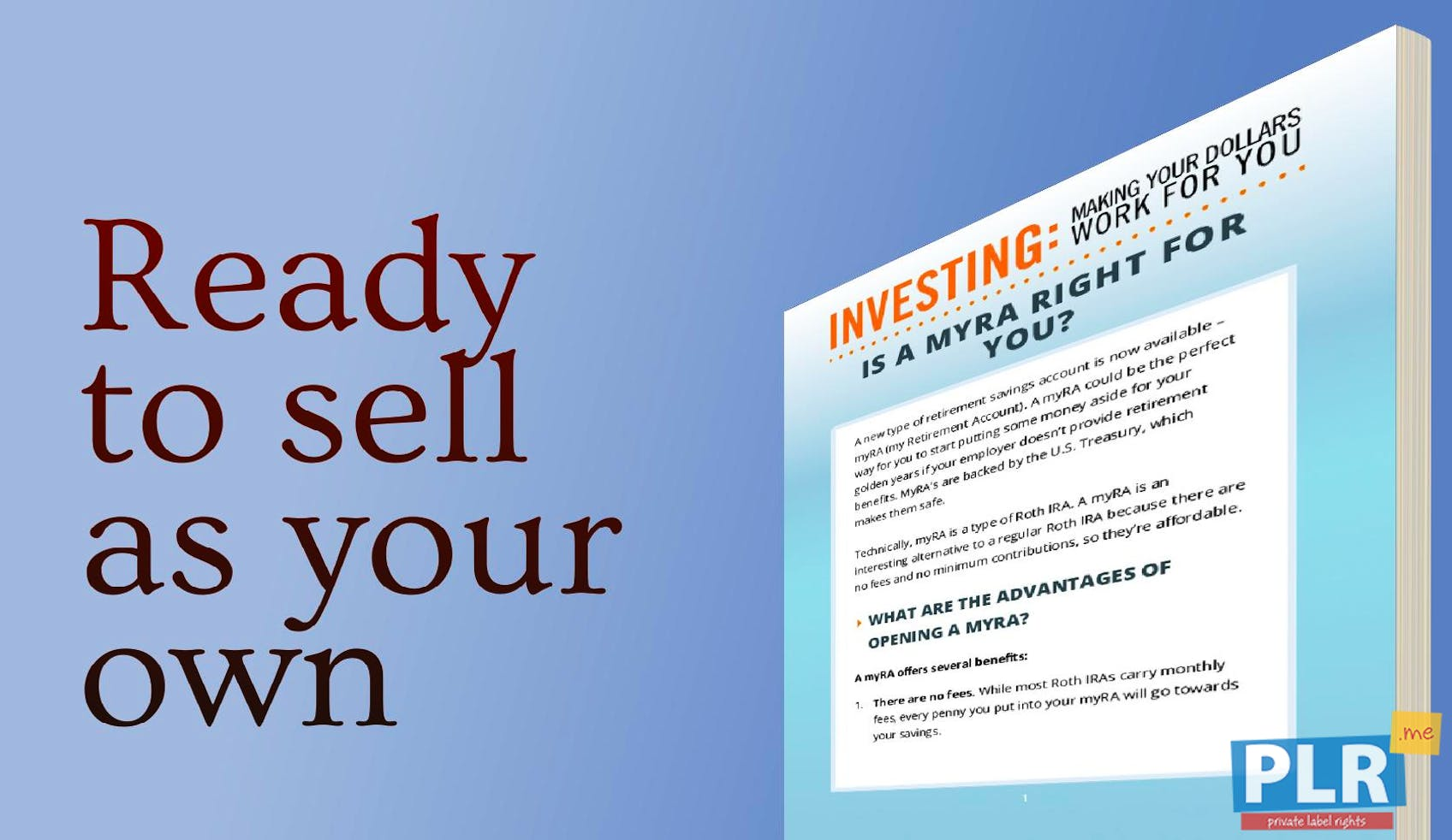 Investing Making Your Dollars Work For You Is A Myra Right For You