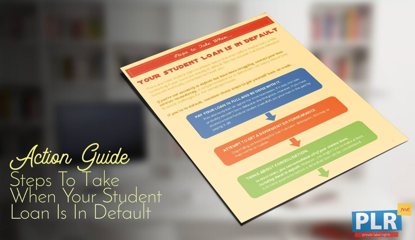 Steps To Take When Your Student Loan Is In Default