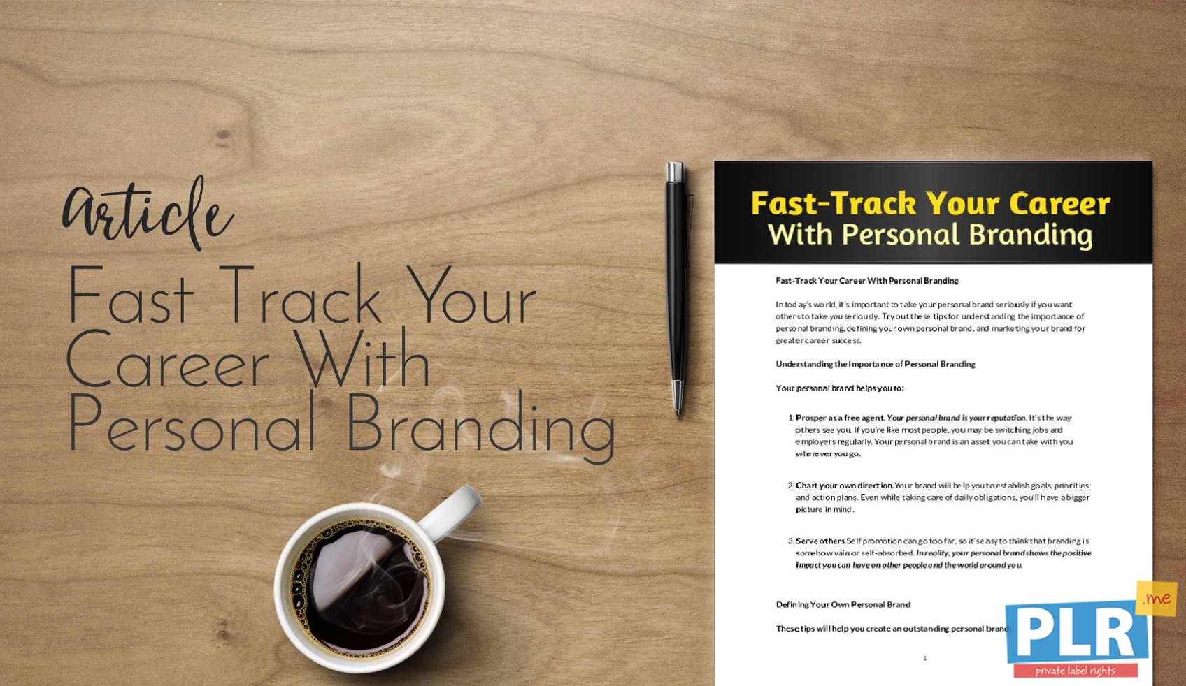 Fast Track Your Career With Personal Branding