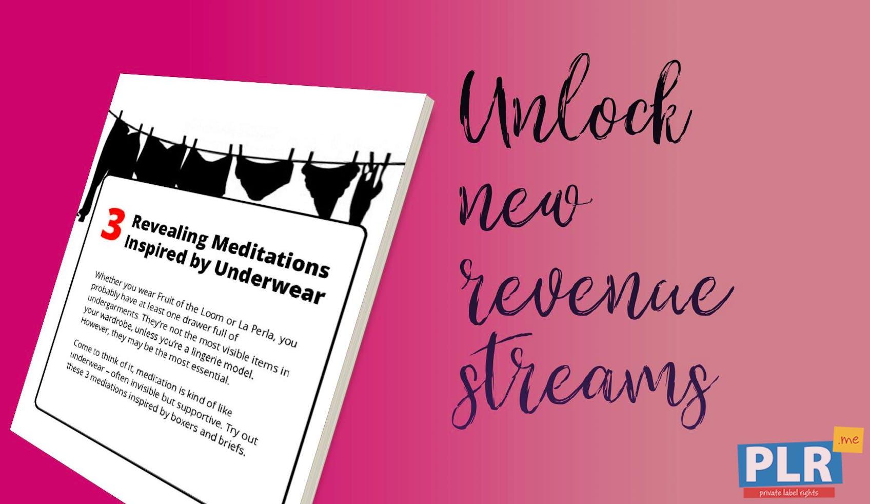 3 Revealing Meditations Inspired By Underwear