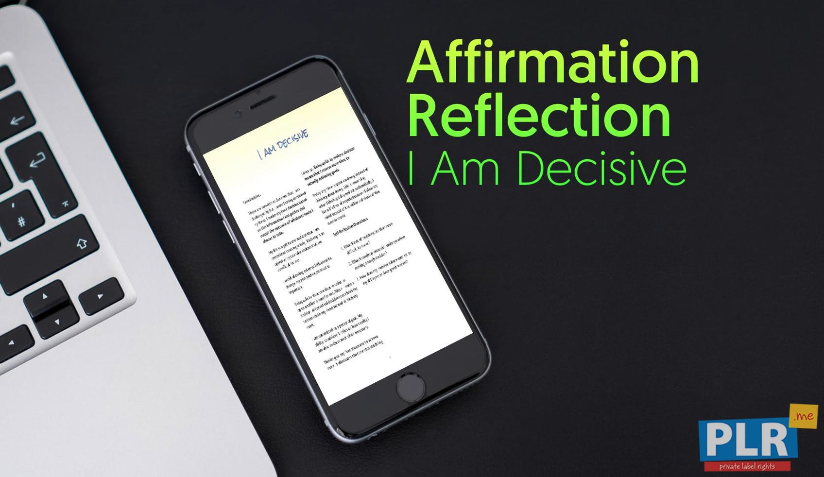 I Am Decisive
