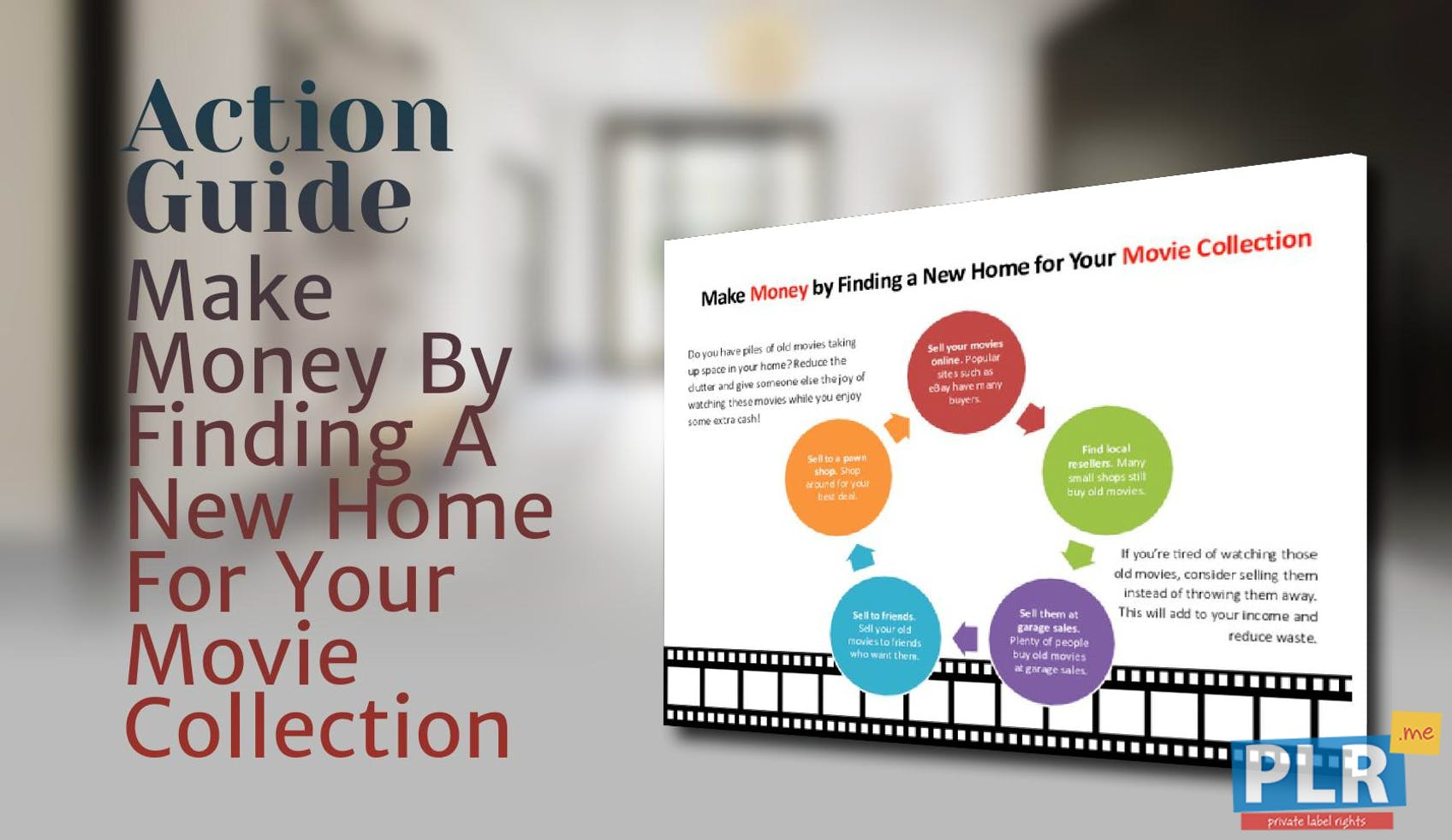 Make Money By Finding A New Home For Your Movie Collection