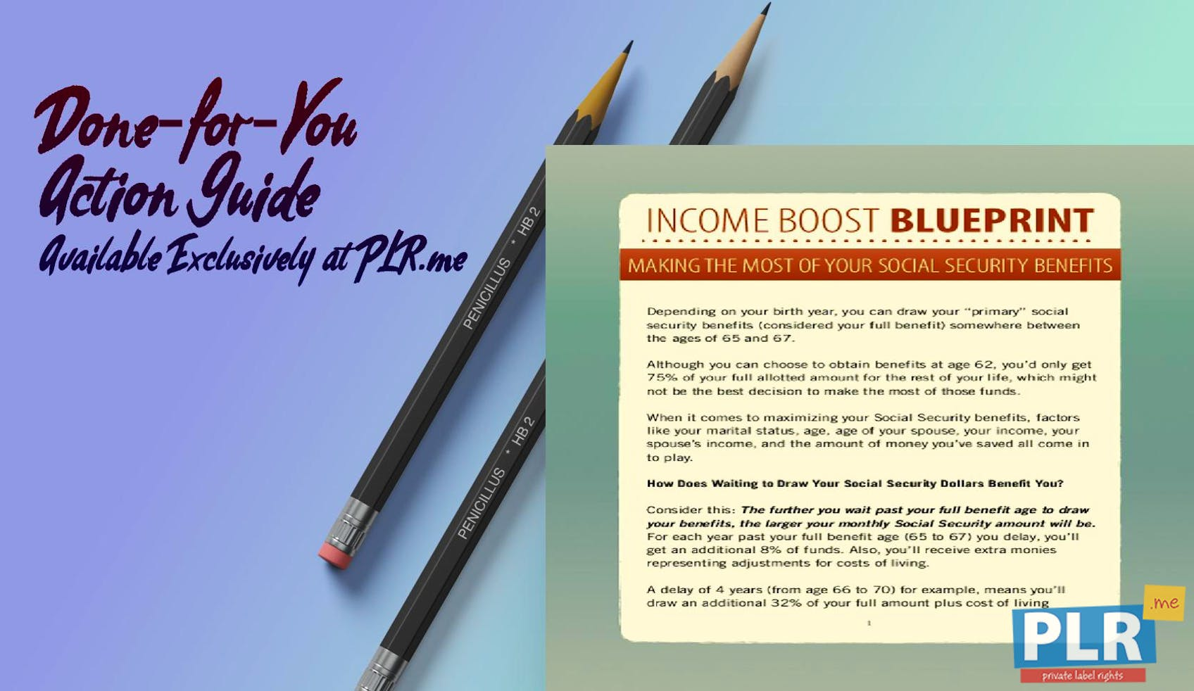Income Boost Blueprint Making The Most Of Your Social Security Benefits