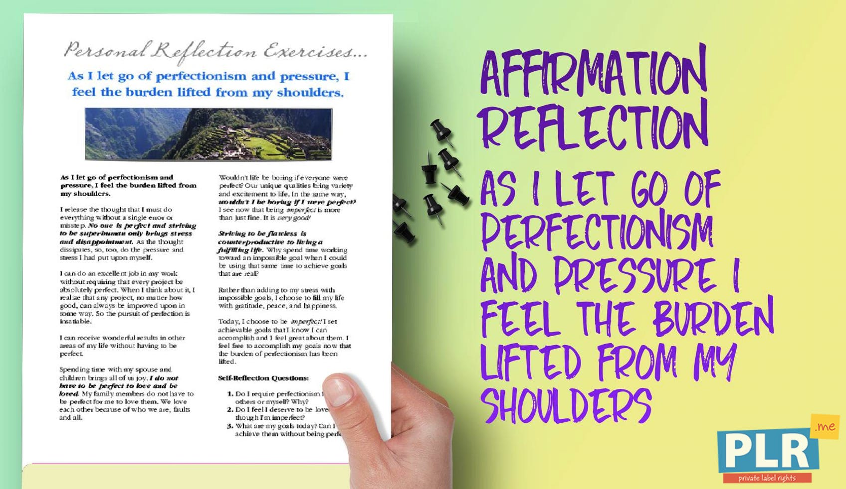 As I Let Go Of Perfectionism And Pressure I Feel The Burden Lifted From My Shoulders