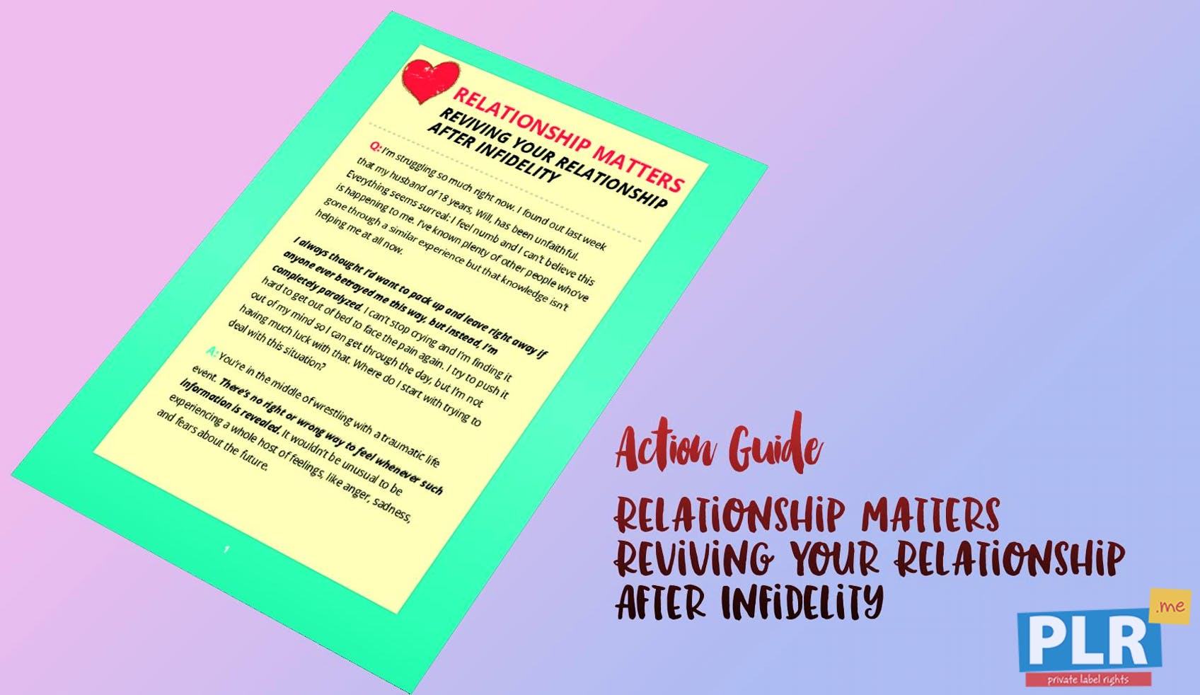 Relationship Matters Reviving Your Relationship After Infidelity