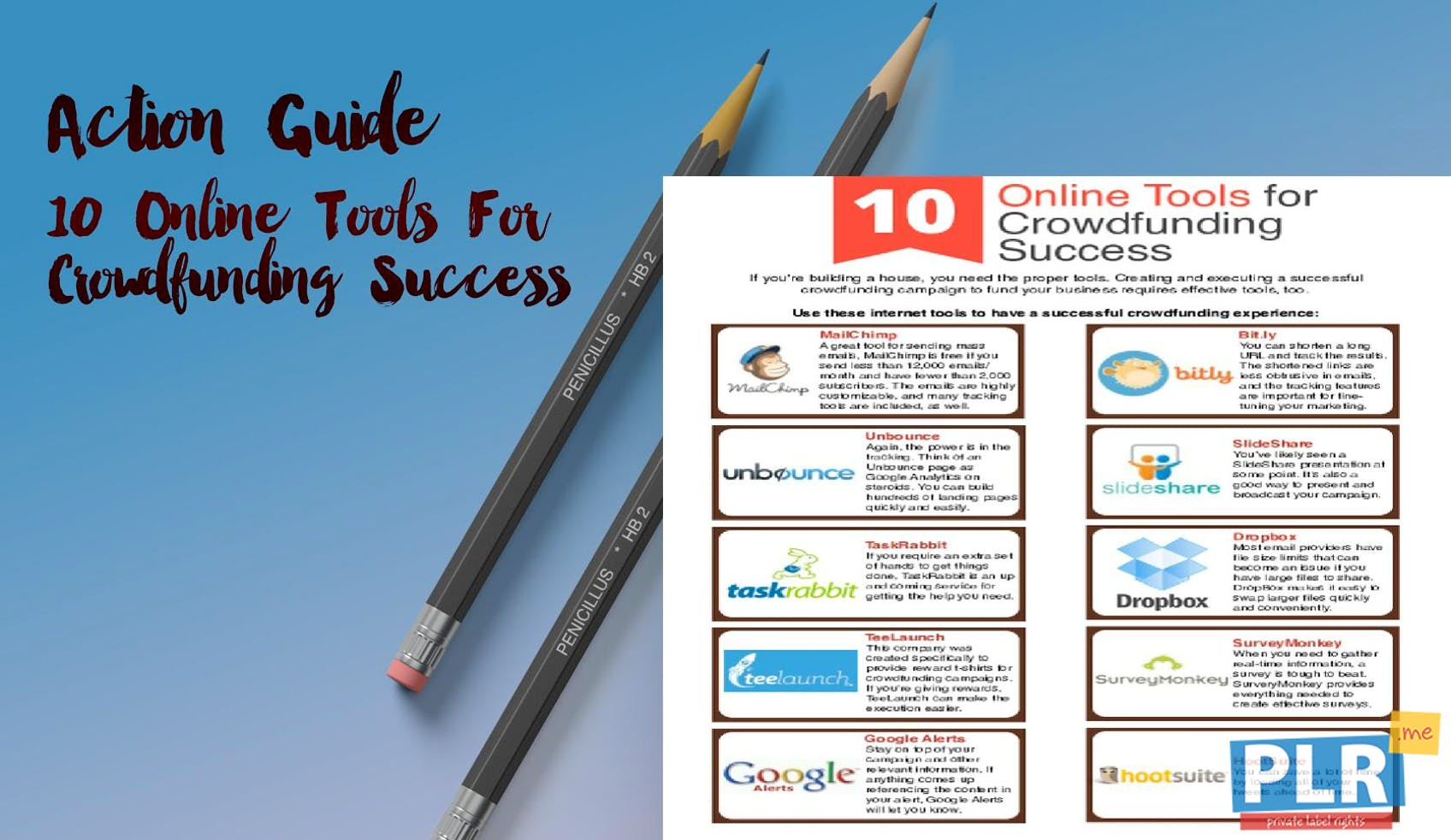 10 Online Tools For Crowdfunding Success