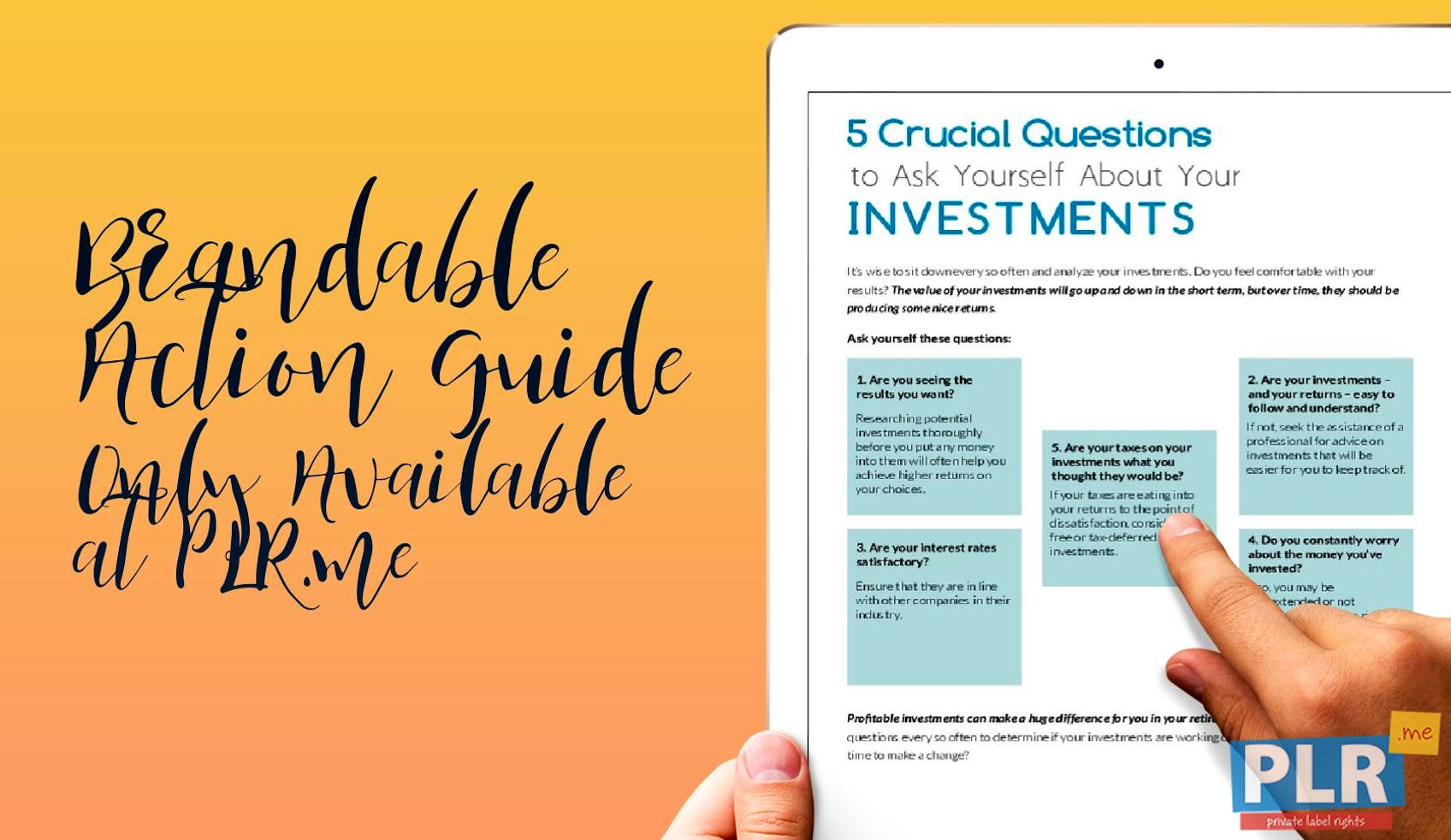 5 Crucial Questions To Ask Yourself About Your Investments