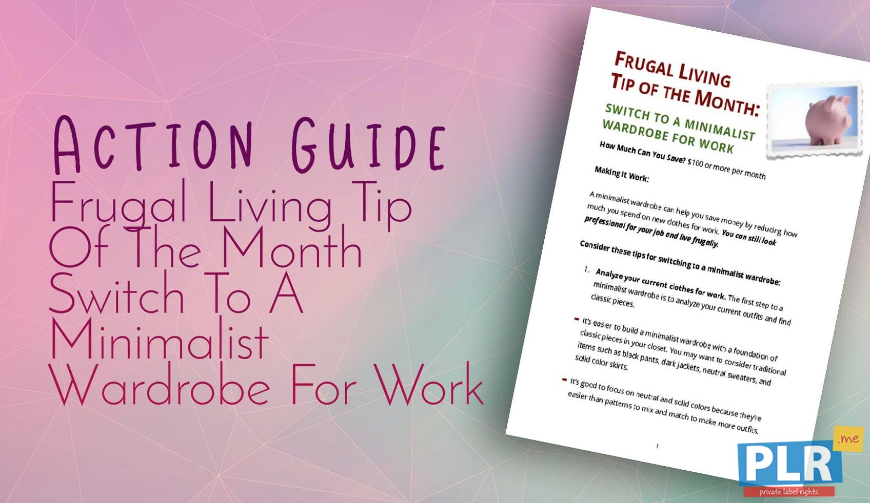 Frugal Living Tip Of The Month Switch To A Minimalist Wardrobe For Work