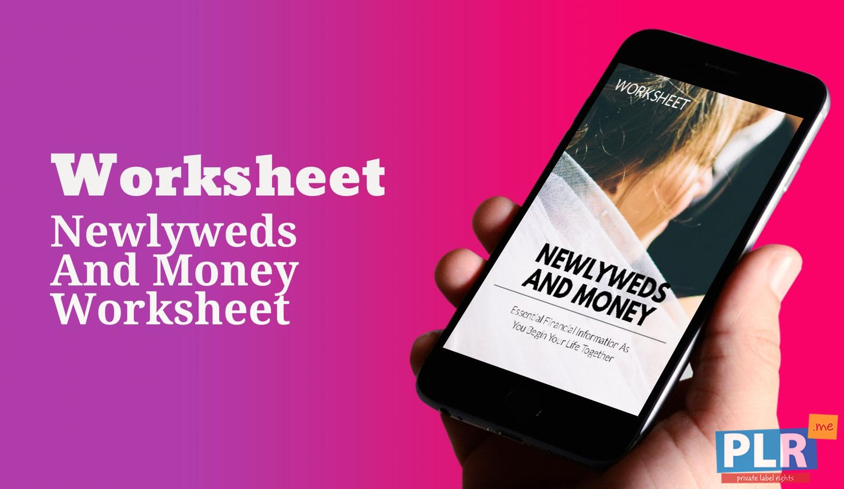 Newlyweds And Money Worksheet