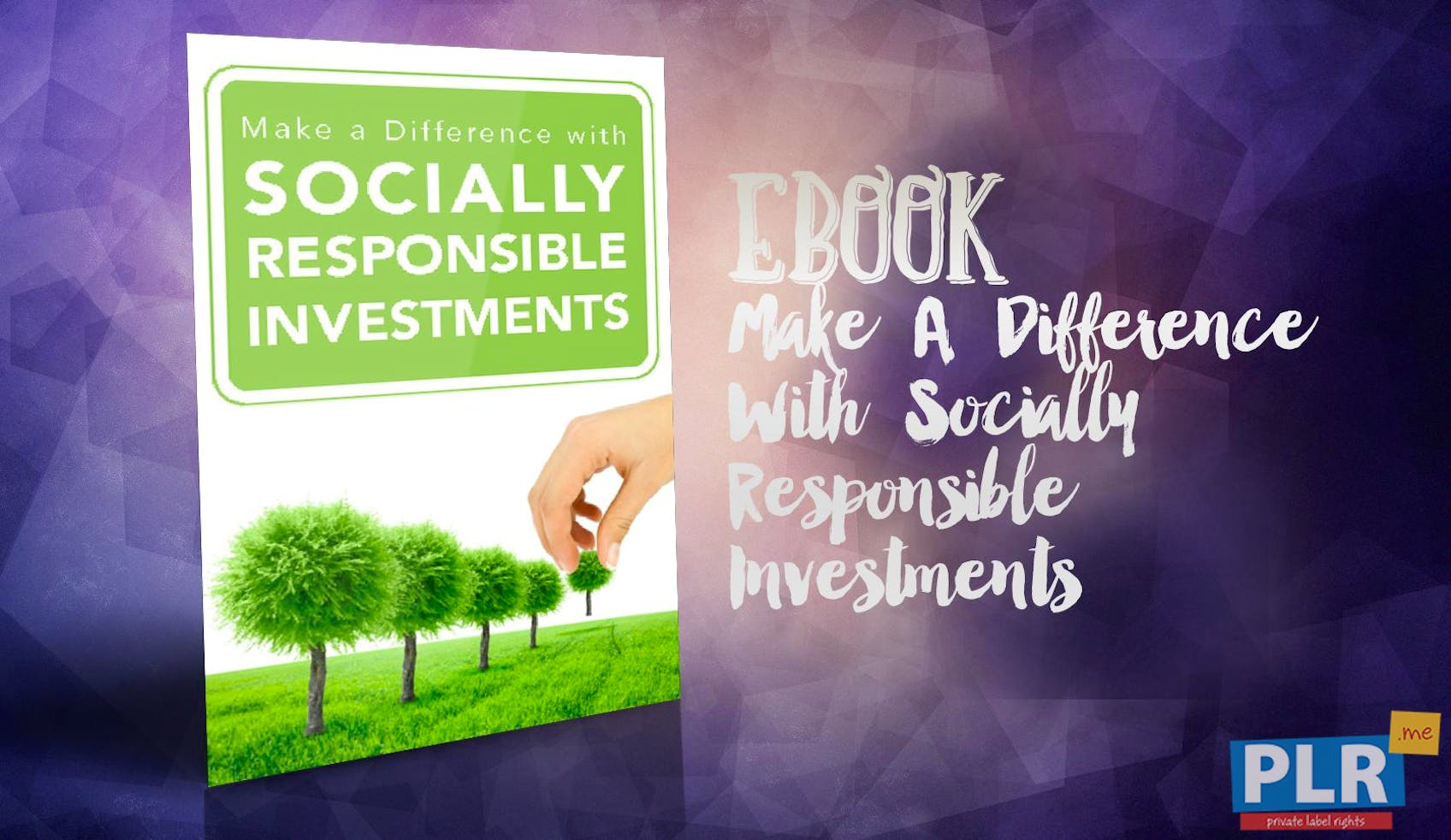 Make A Difference With Socially Responsible Investments