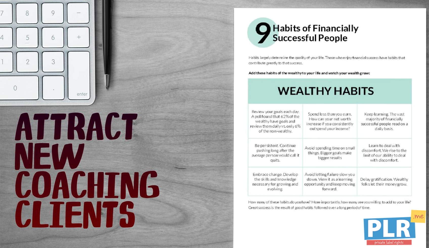 9 Habits Of Financially Successful People