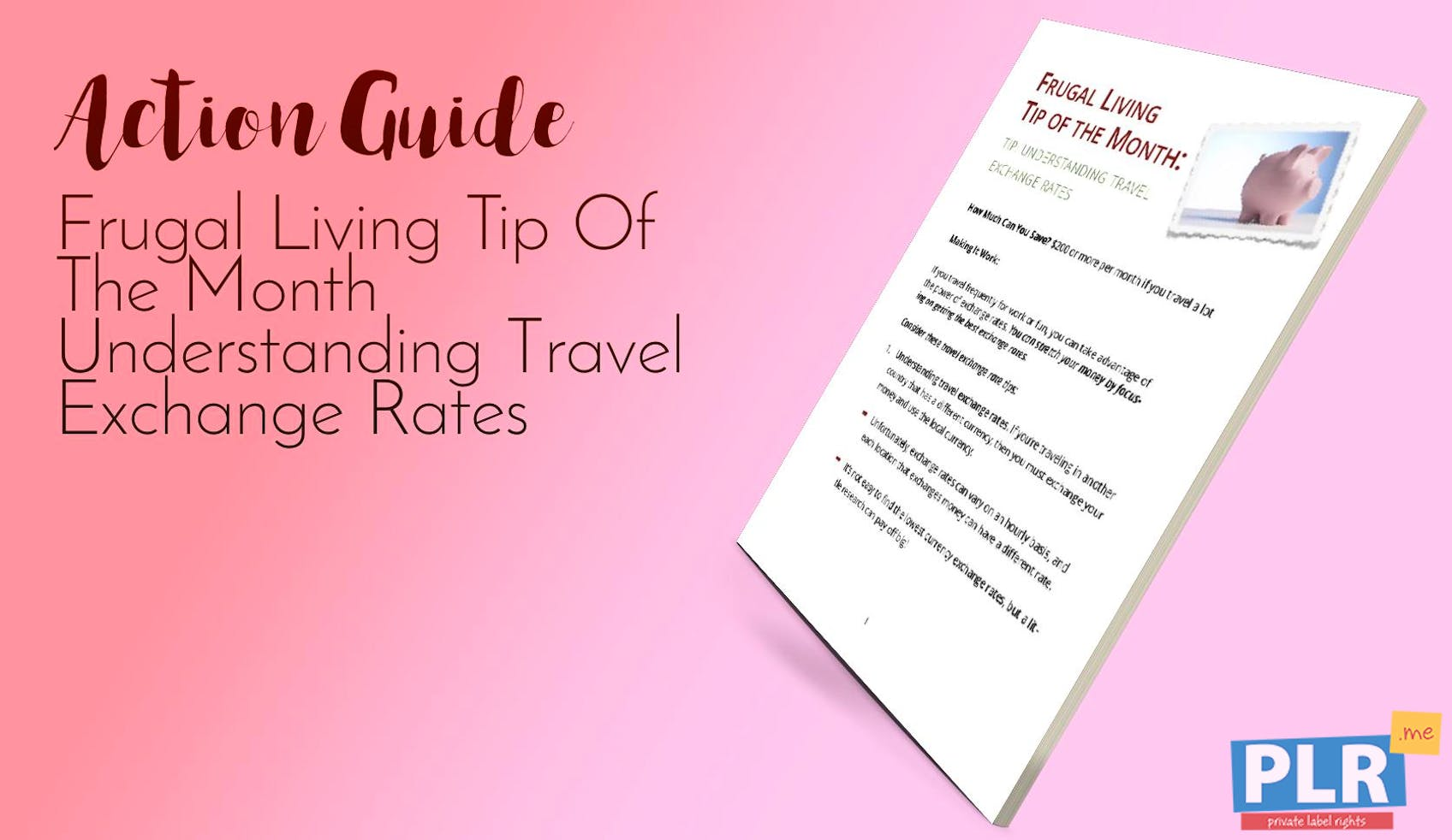 Frugal Living Tip Of The Month Understanding Travel Exchange Rates