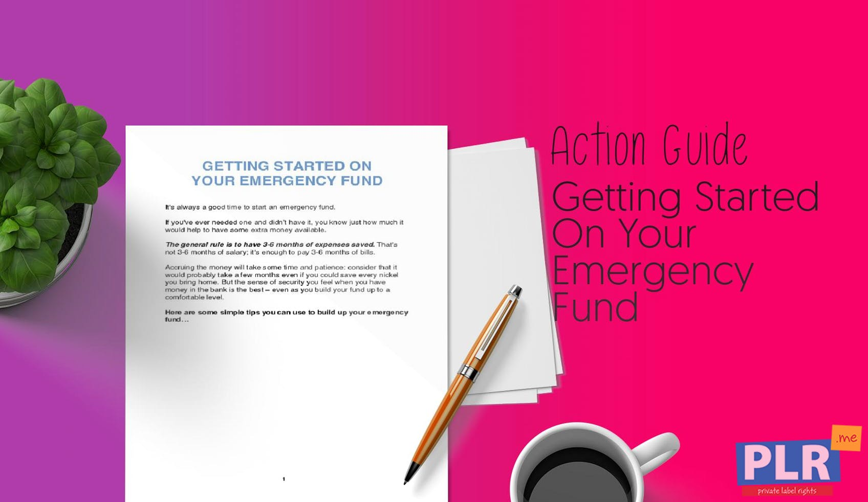 Getting Started On Your Emergency Fund