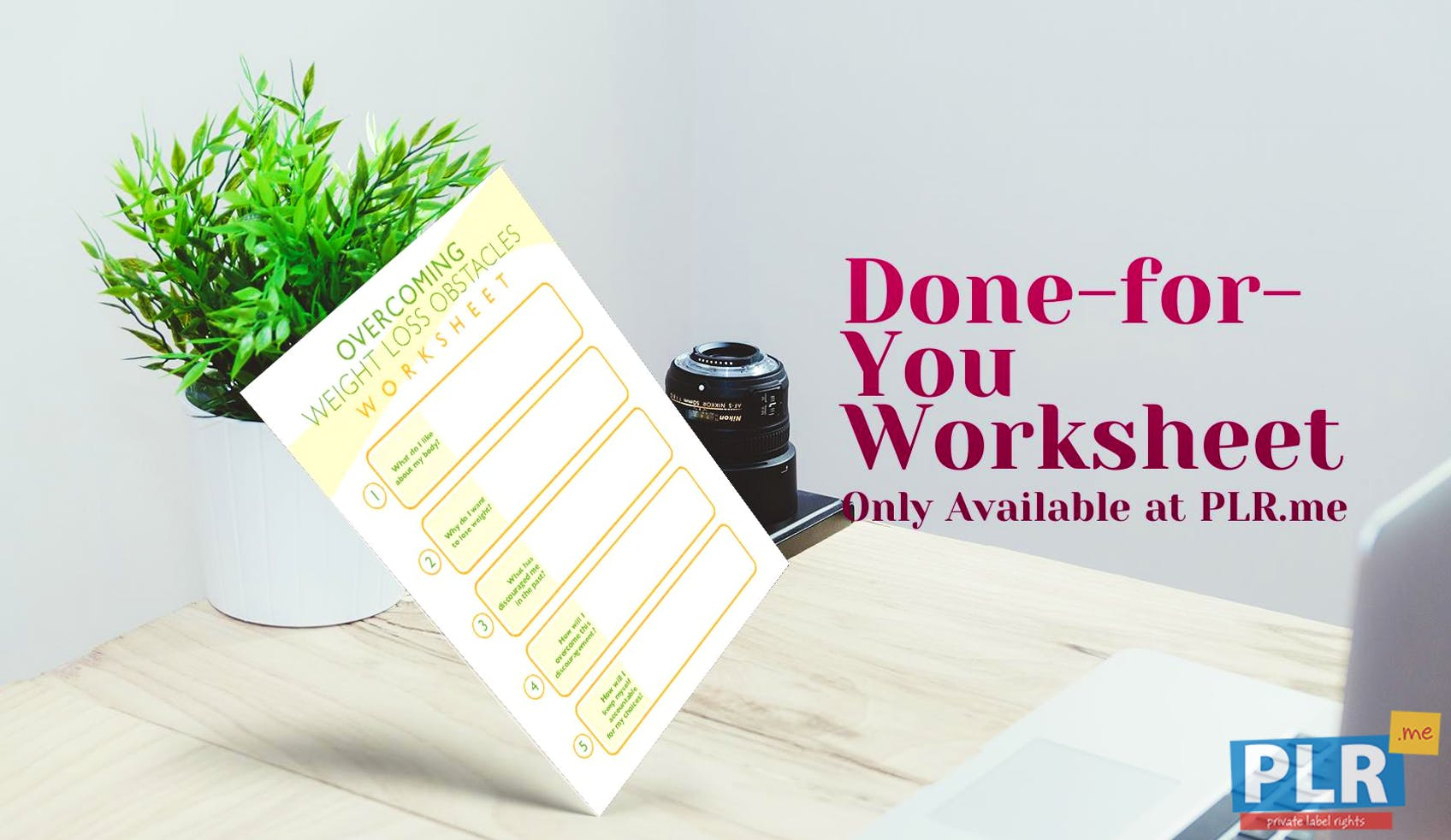 Overcoming Weight Loss Obstacles Worksheet