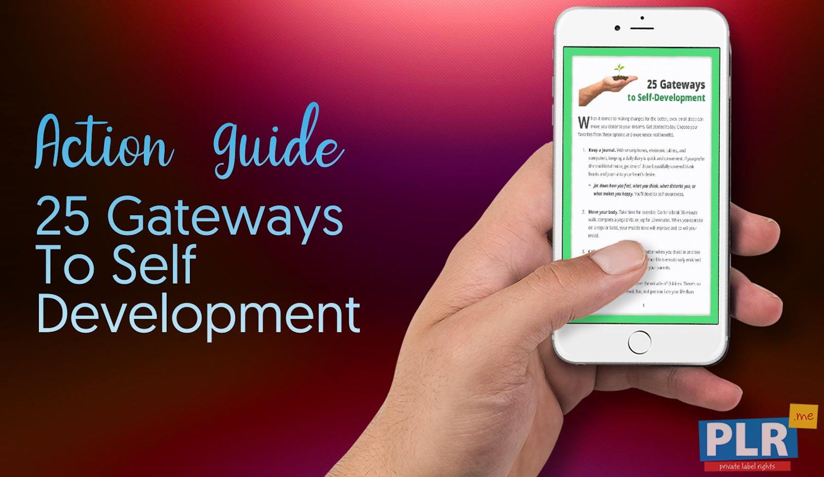 25 Gateways To Self Development