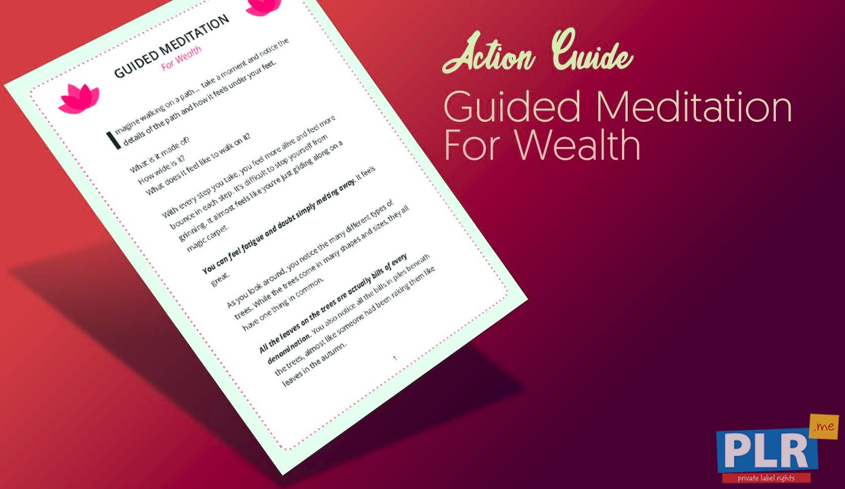 Guided Meditation For Wealth