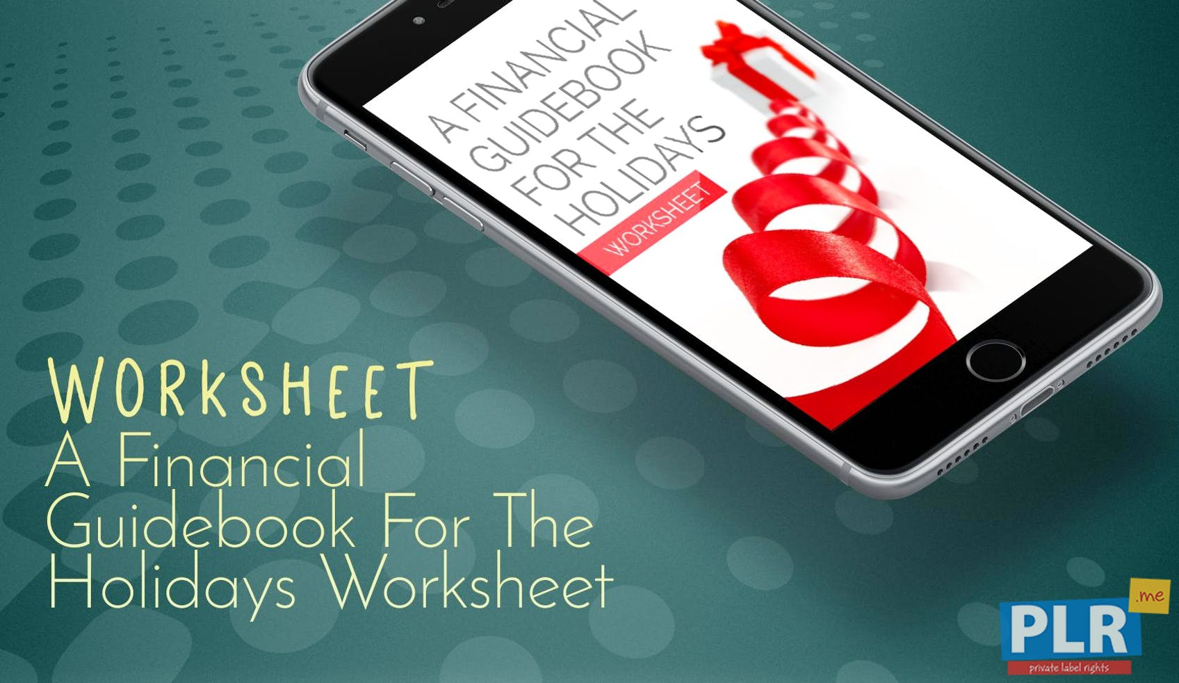PLR Worksheets - A Financial Guidebook For The Holidays Worksheet ...