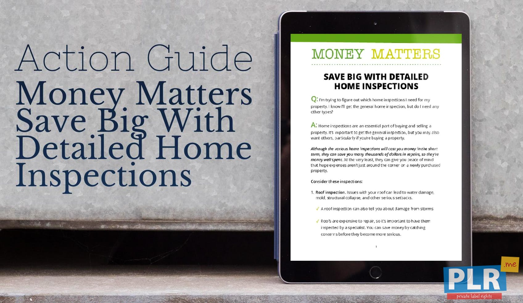 Money Matters Save Big With Detailed Home Inspections