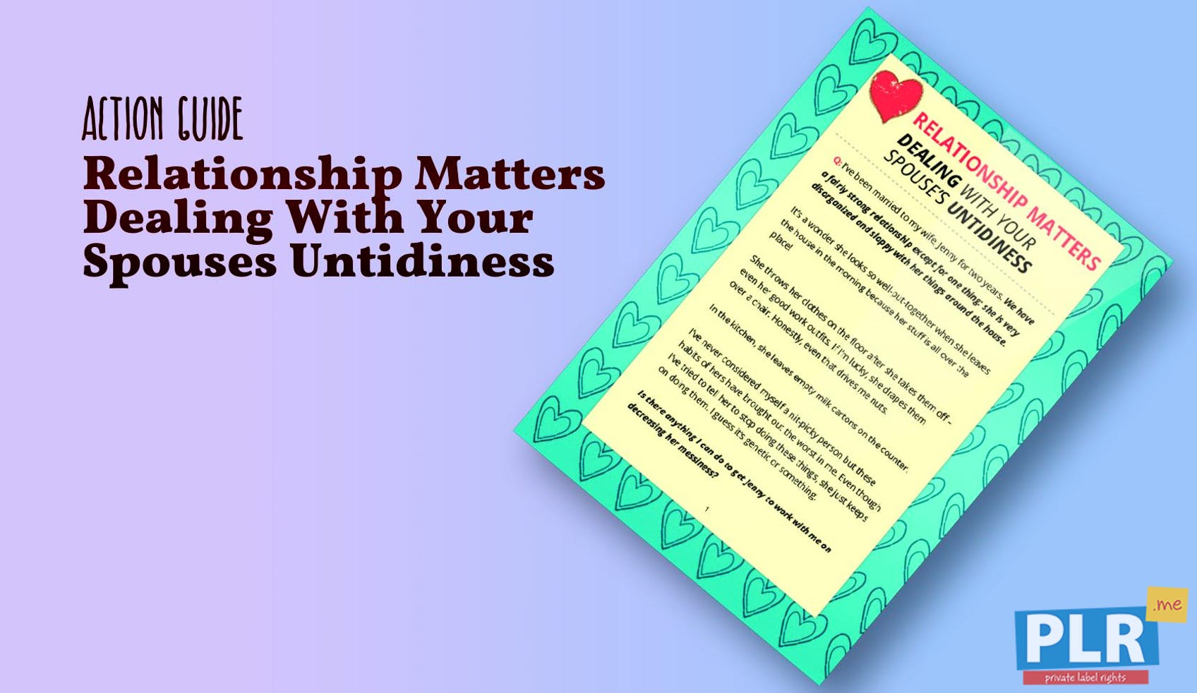 Relationship Matters Dealing With Your Spouses Untidiness