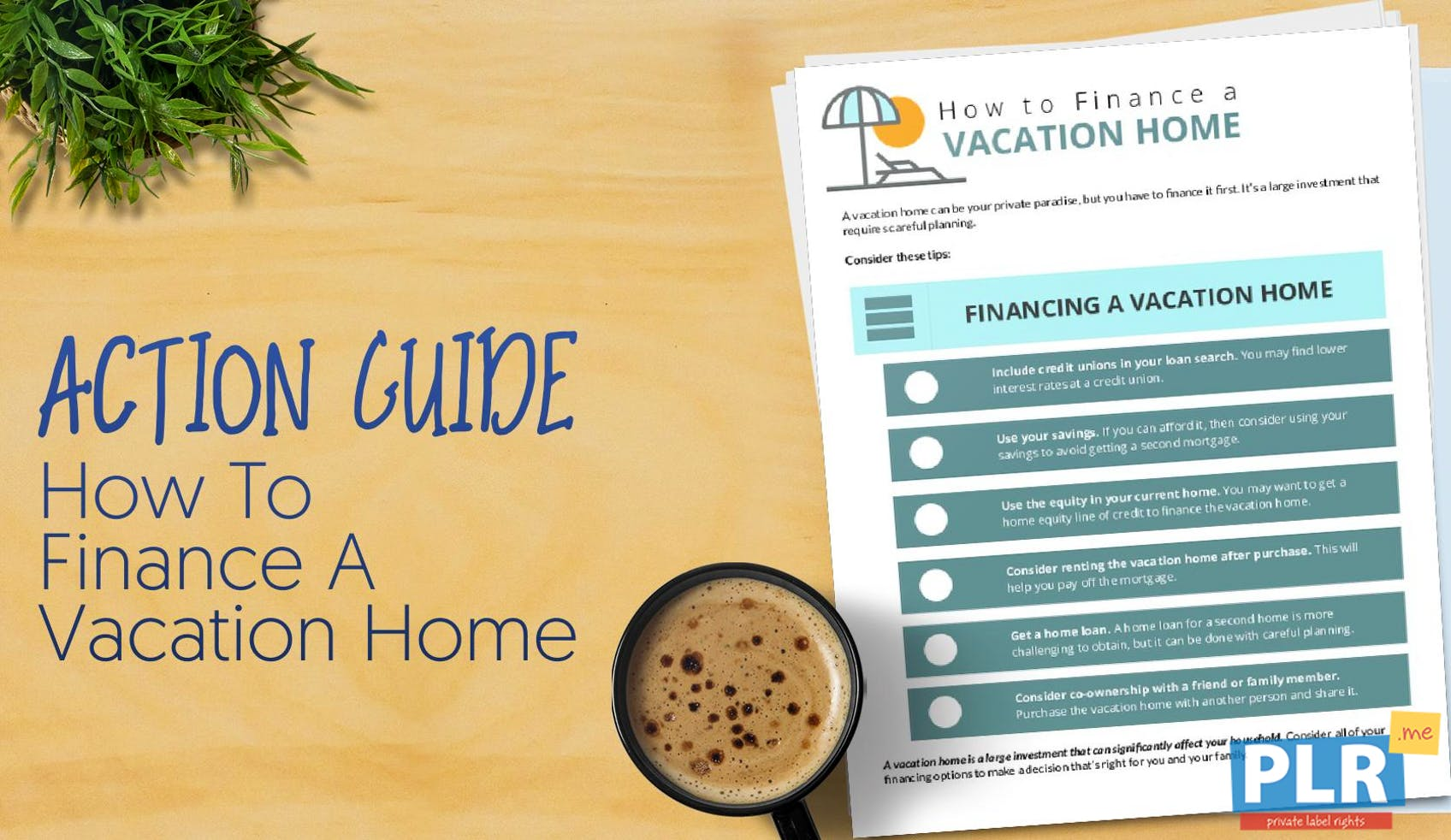 How To Finance A Vacation Home