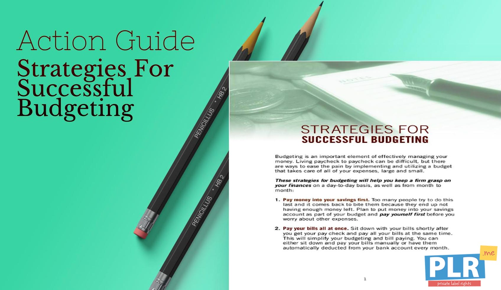 Strategies For Successful Budgeting