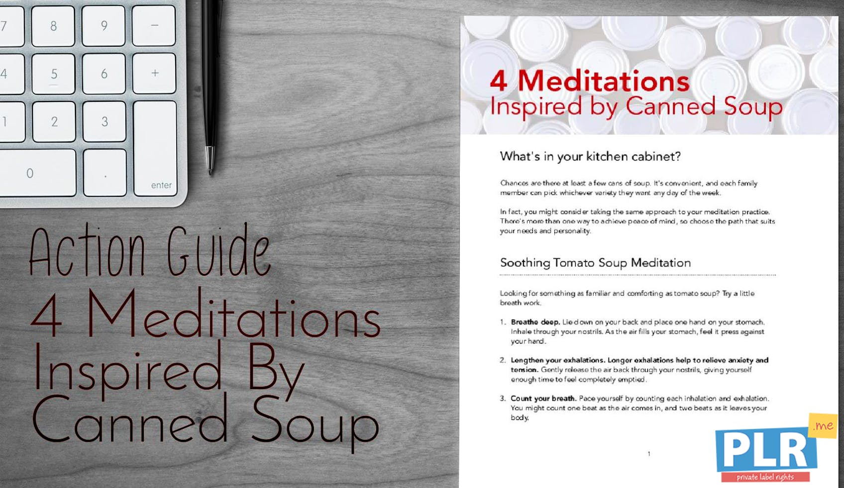 4 Meditations Inspired By Canned Soup