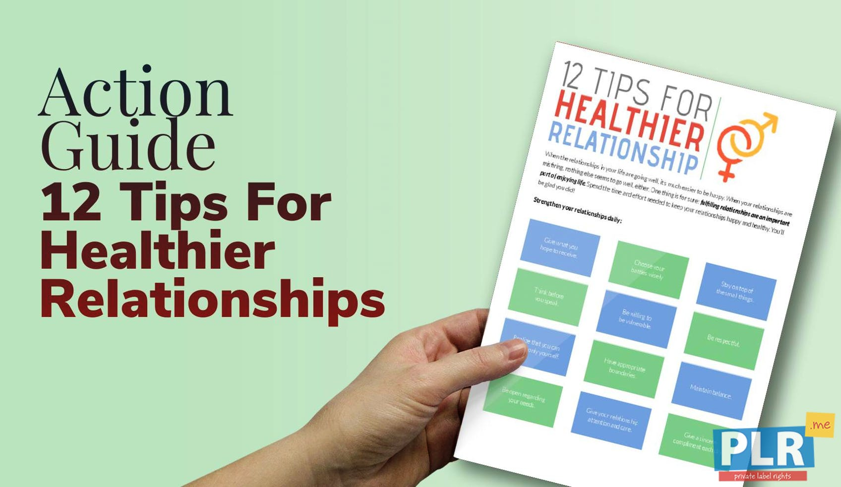 12 Tips For Healthier Relationships