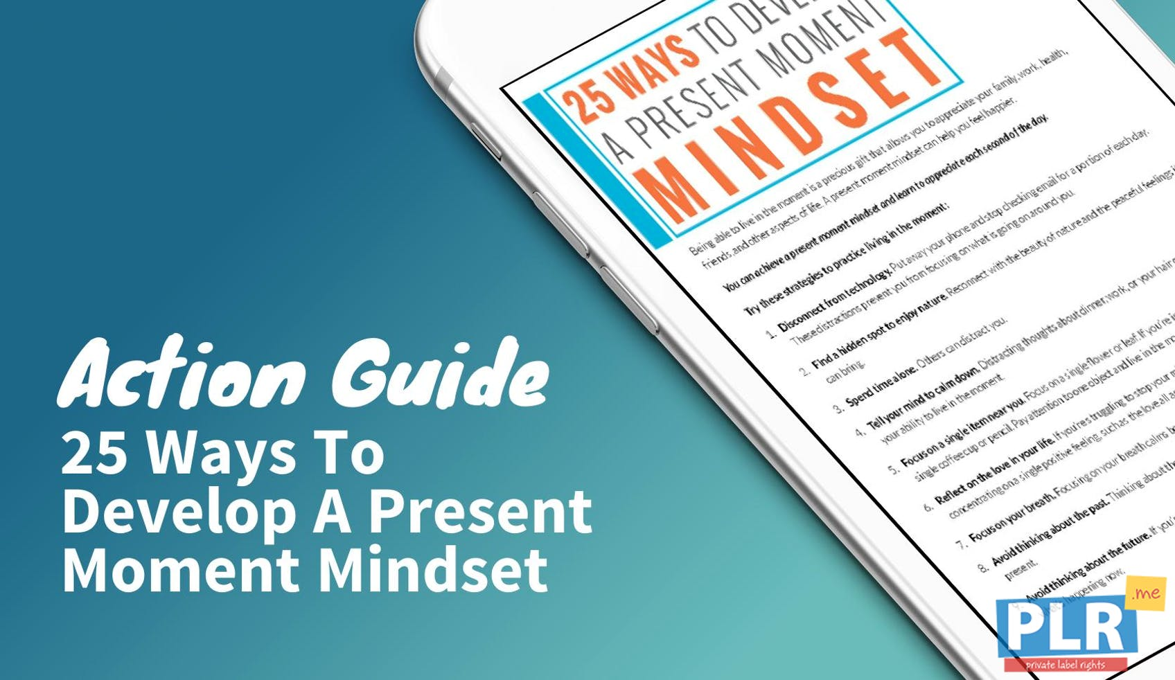 25 Ways To Develop A Present Moment Mindset
