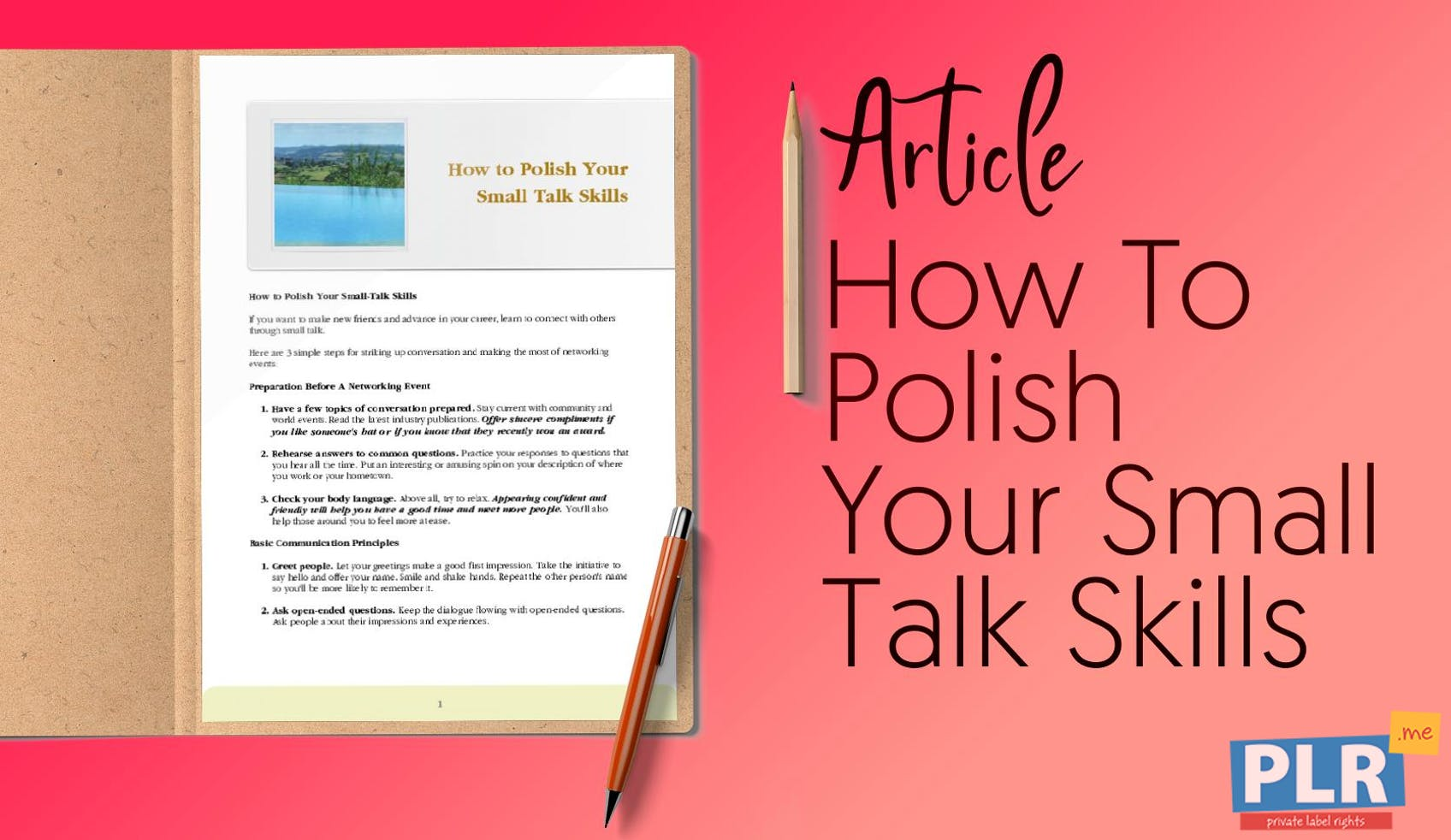 How To Polish Your Small Talk Skills