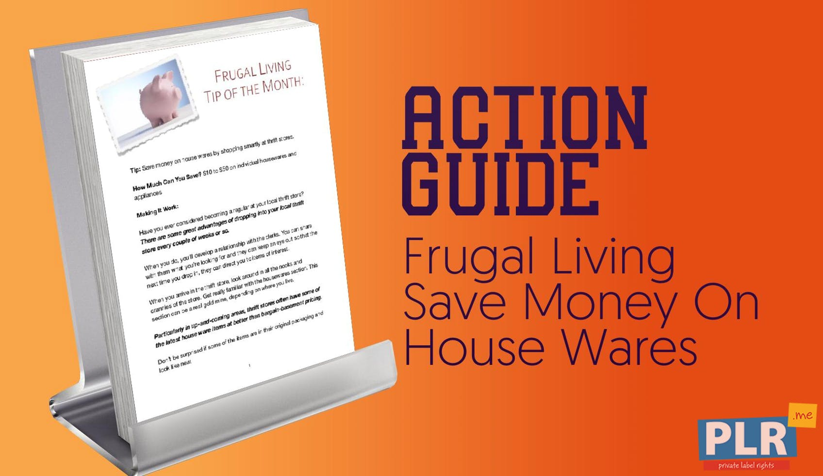 Frugal Living Save Money On House Wares