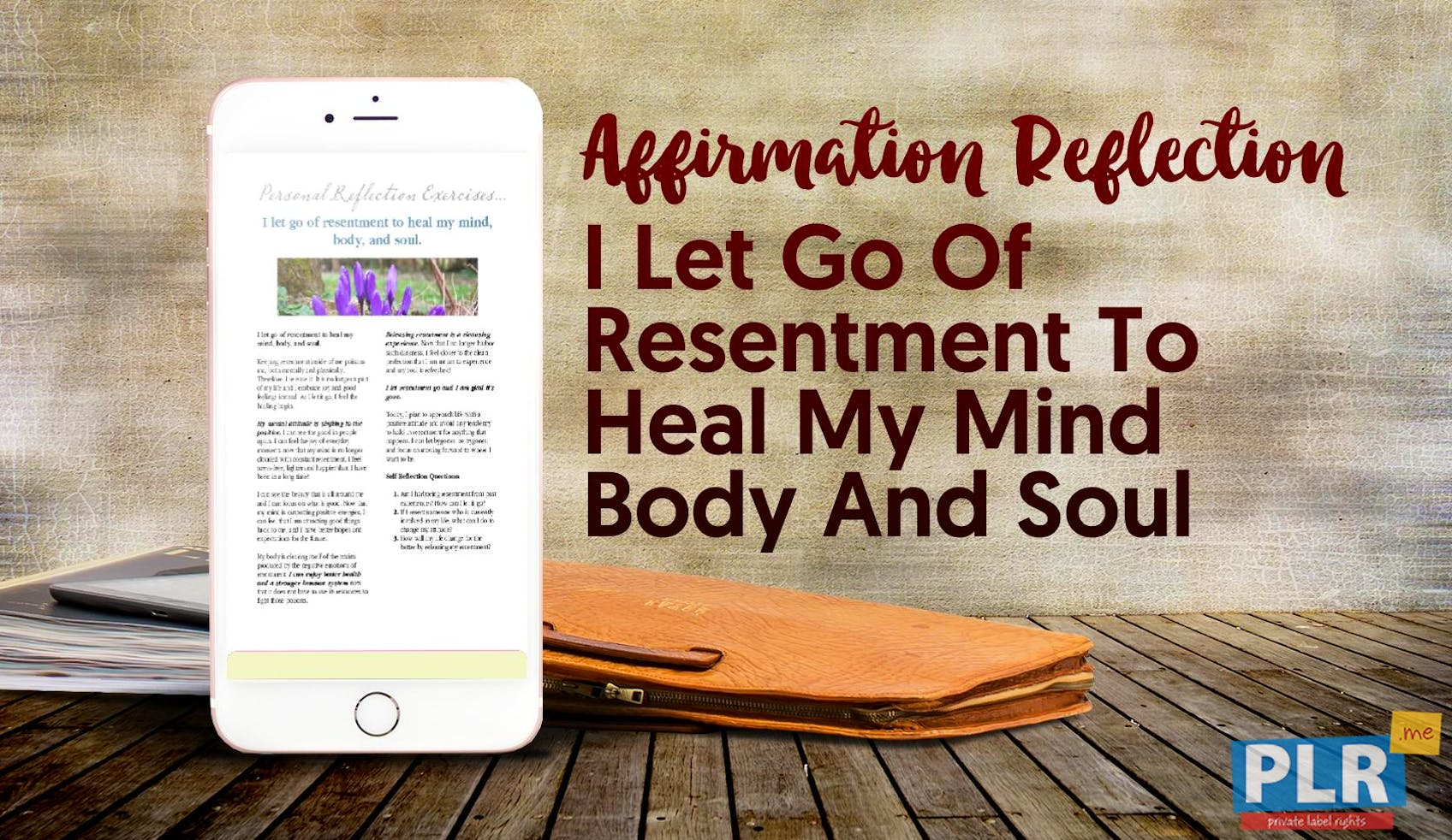 I Let Go Of Resentment To Heal My Mind Body And Soul