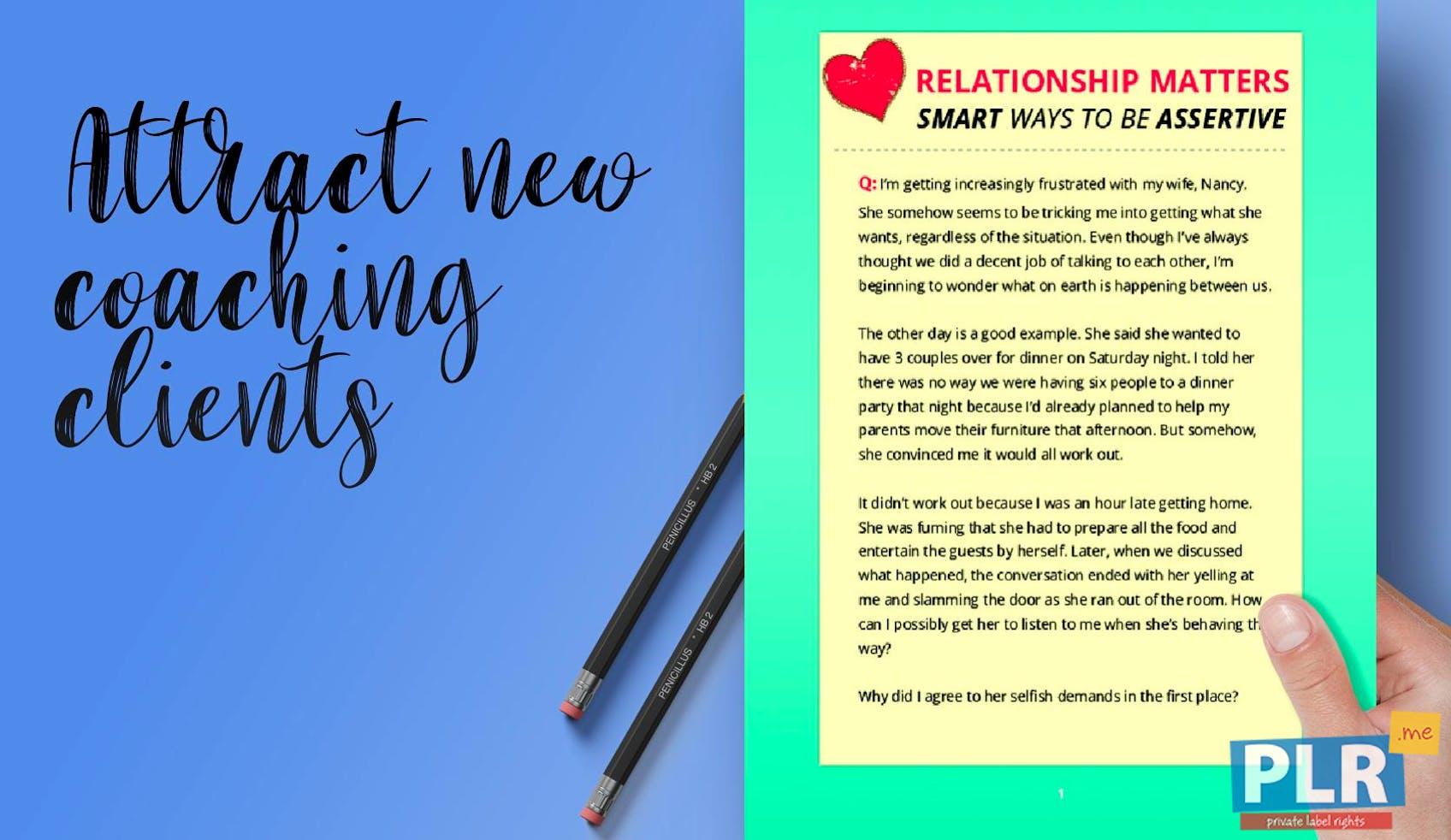 Relationship Matters Smart Ways To Be Assertive