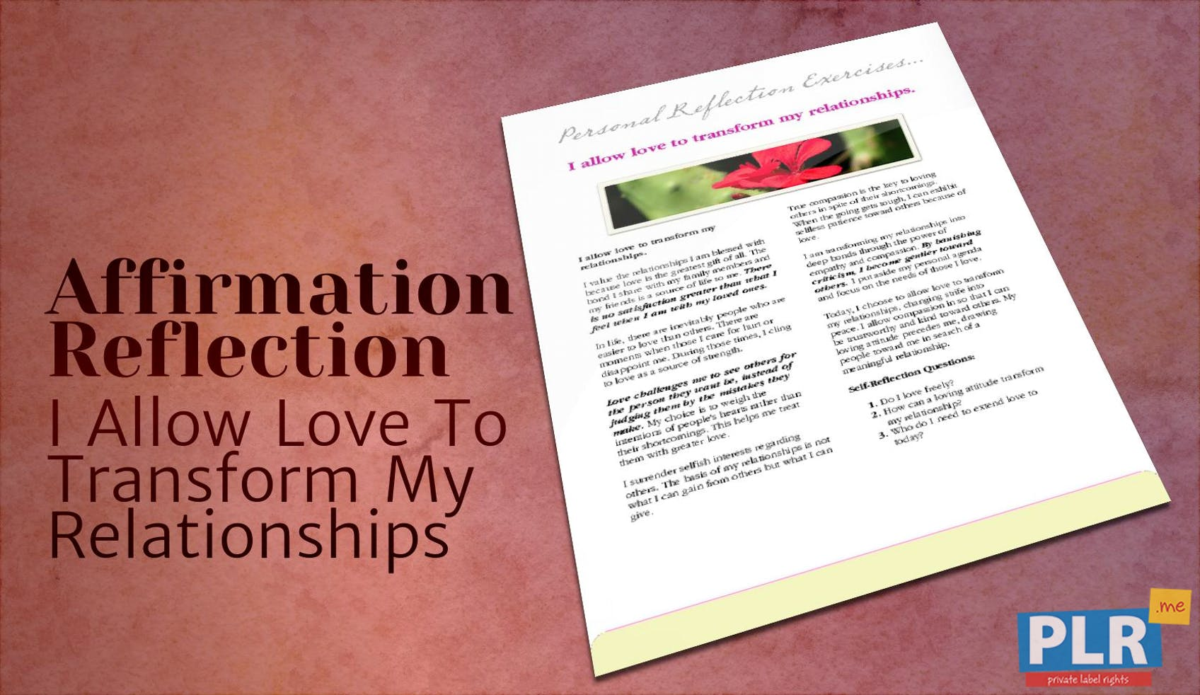 I Allow Love To Transform My Relationships