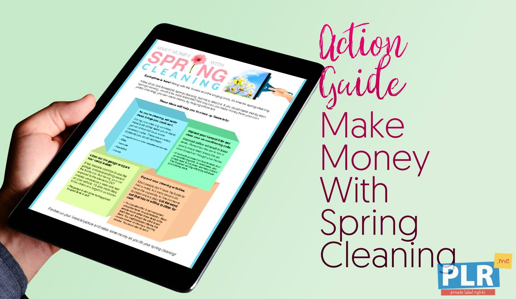 Make Money With Spring Cleaning
