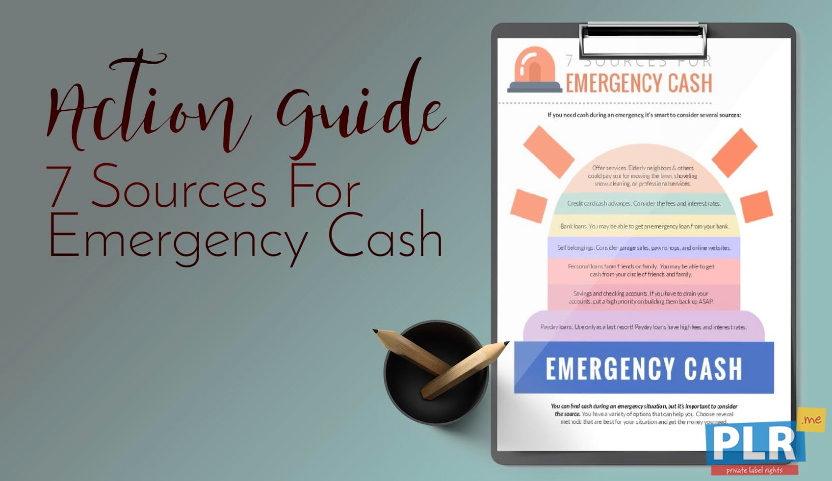7 Sources For Emergency Cash