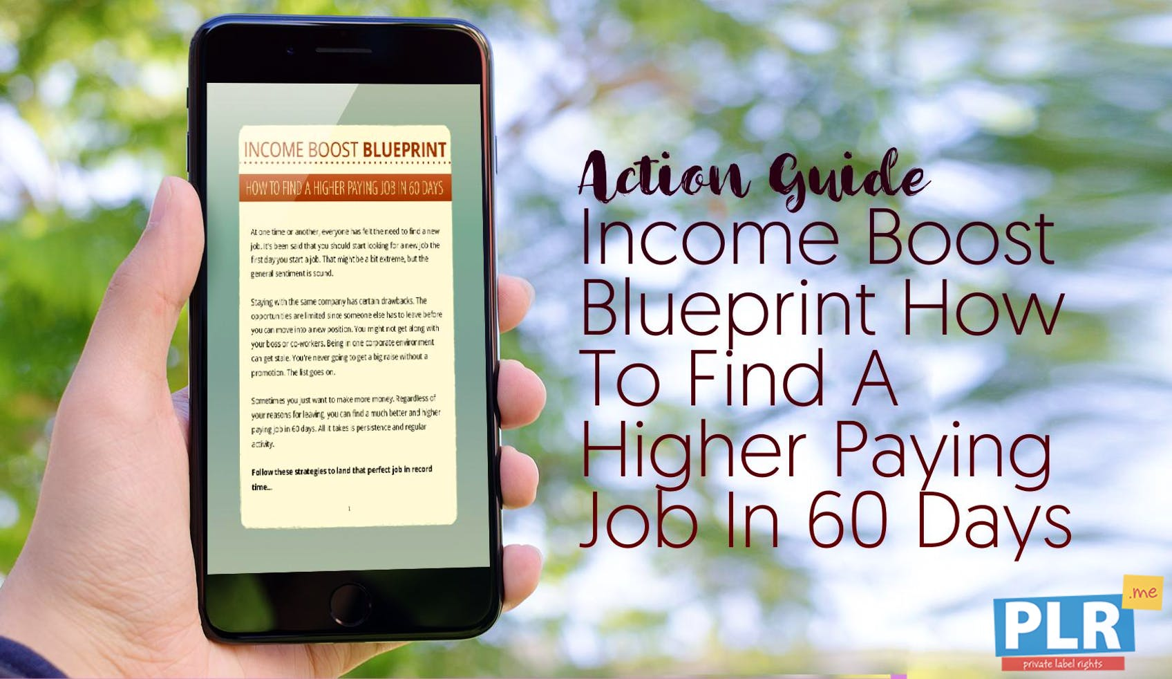 Income Boost Blueprint How To Find A Higher Paying Job In 60 Days